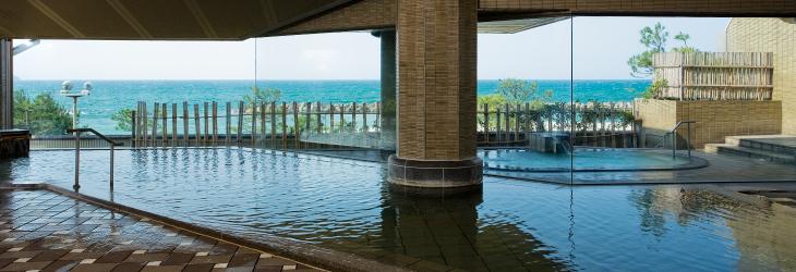 天水大浴場 日本海